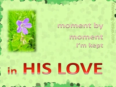 Kept in His Love (devotional)