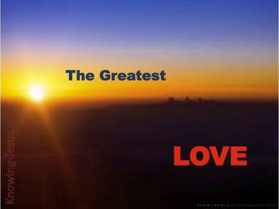 The Greatest Love (devotional)01-27 (brown)