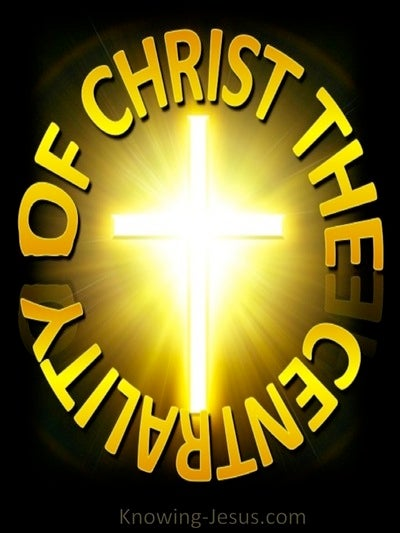 Centrality of Christ (yellow)