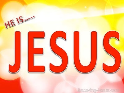 He Is Jesus (devotional) (red)