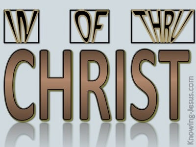 In Of And Thru Christ (devotional)11-12 (brown)