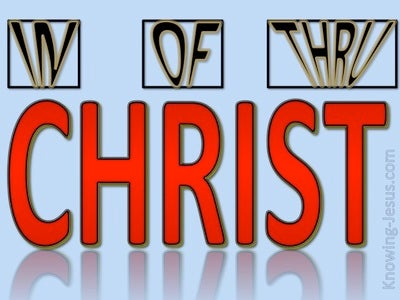 In Of And Thru Christ (devotional) (red)