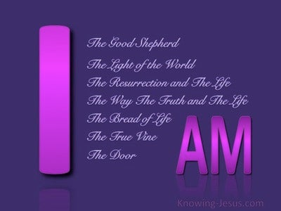 Jesus the Great I AM (devotional) (purple) - John 10:11