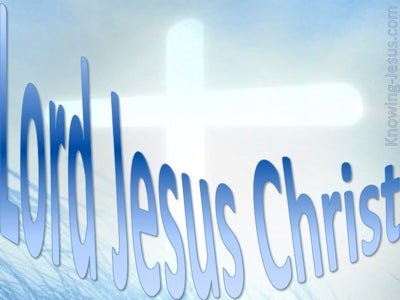 JESUS - Lord Jesus Christ (blue)