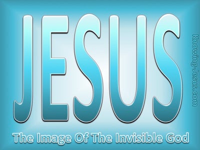 Colossians 1:15 Image of God (devotional)10-14 (aqua)