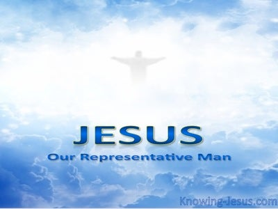 Jesus Our Representative Man (devotional) (blue)