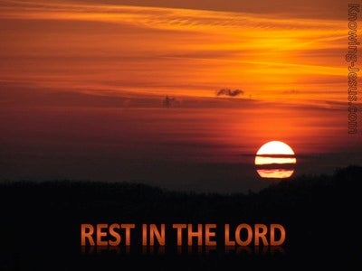 Psalm 37:7 Rest In The Lord (devotional)01:26 (brown)