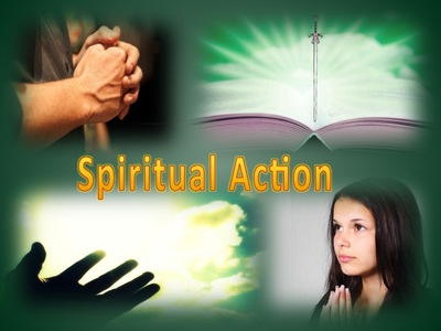 PRAYER - Spiritual Action (green)