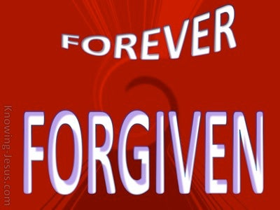 SALVATION - Forever Forgiven (red)