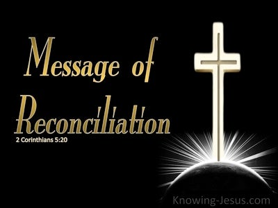 2 Corinthians 5:20 Message of Reconciliation (white)