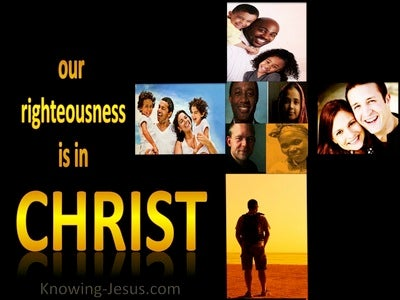 His Righteousness, My Glorious Garment (devotional) (yellow) - Philippians 3:9