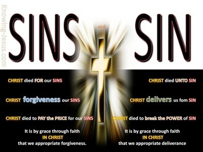 SALVATION - Sins Verses Sin (white)