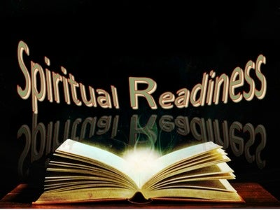 Spiritual Readiness (devotional) (black)