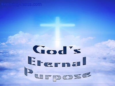 God's Eternal Purpose (blue)