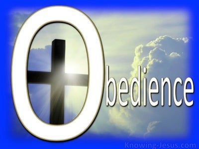 Pattern for Obedience (devotional) (white)