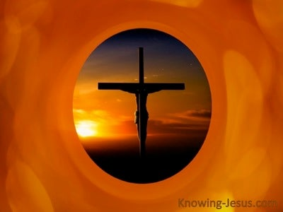 SALVATION - Cross (orange)