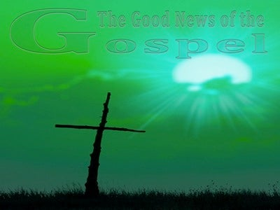 The Good News of the Gospel (devotional)10-01 (green)