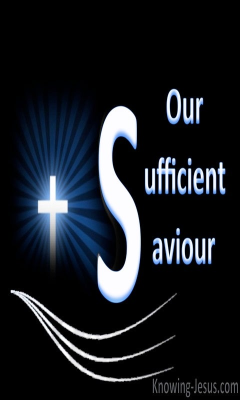 Our Sufficient Saviour (devotional) (black)
