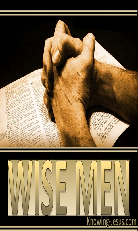 Wise Men (devotional) (gold)
