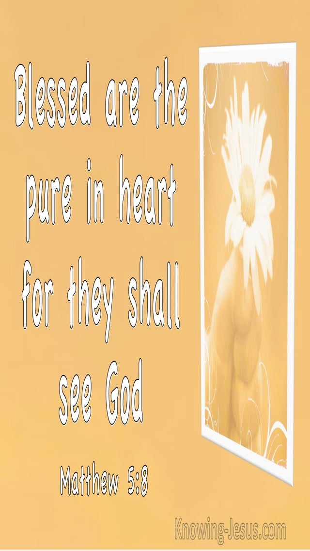 Matthew 5:8 Blessed Are The Pure In Heart For They Shall See God (utmost)03:26