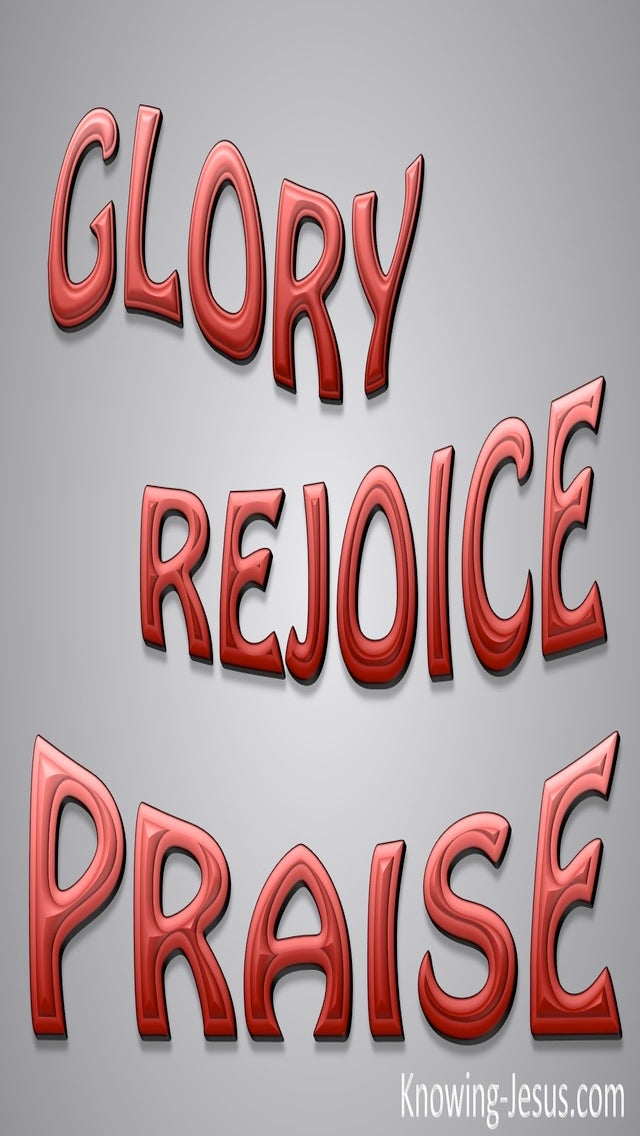 Rejoice In The Lord (gray)