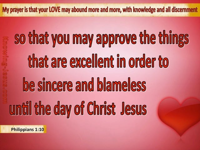 Philippians 1:10 Approve The Things That Are Excellent (red)