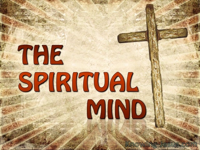 The Spiritual Mind (devotional) (brown) - Philippians 2-5