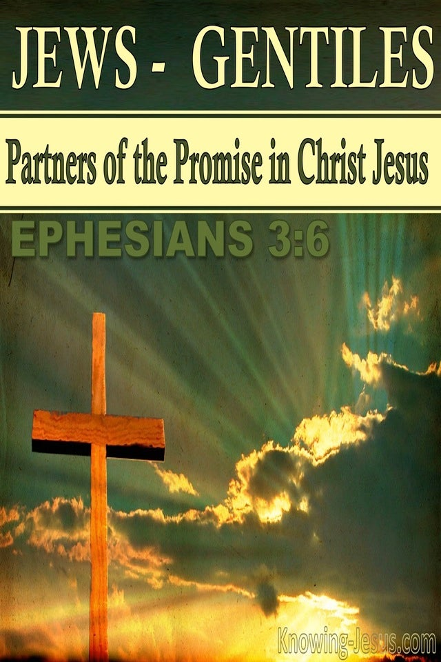 Ephesians 3:6 Co Heirs And Members Of The Same Body (green)