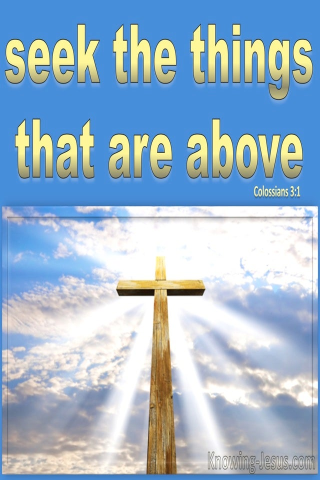 Colossians 3:1 Raise Up Together With Christ (gold)