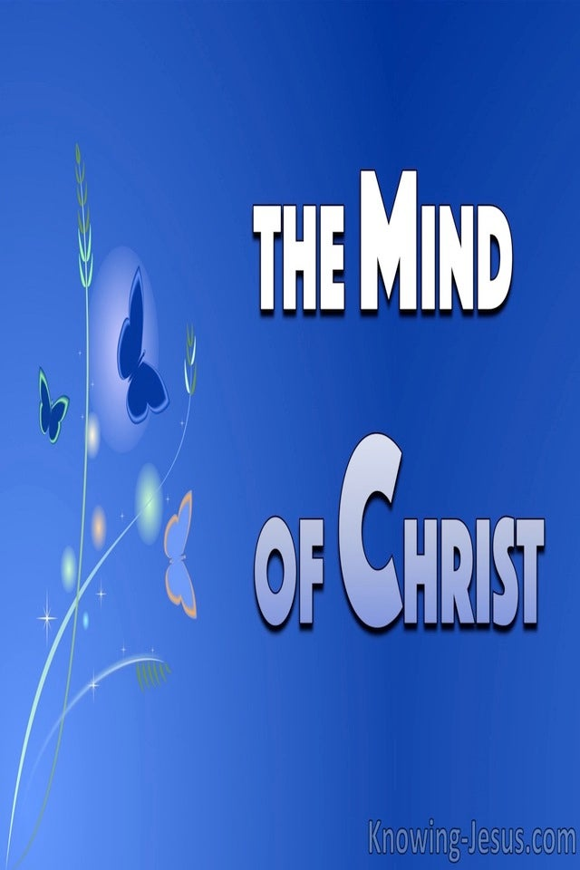 The Mind of Christ (devotional) - 1Corinthians 2:16