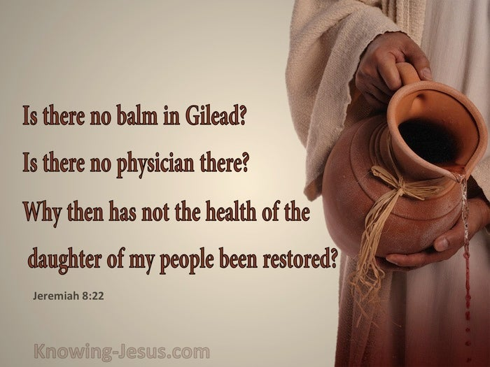 7 Bible verses about Balms