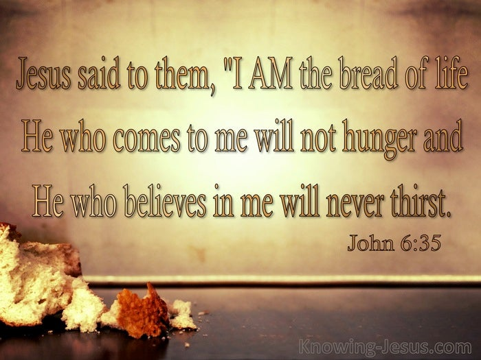 38 Bible Verses About Bread