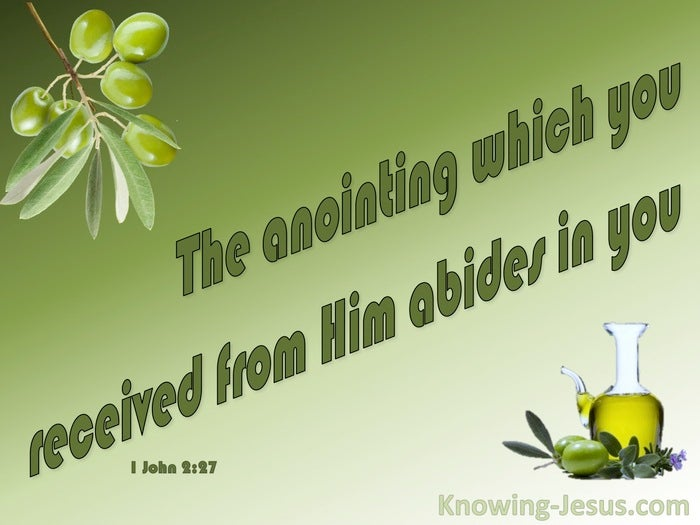 15 Bible verses about Anointing Oil