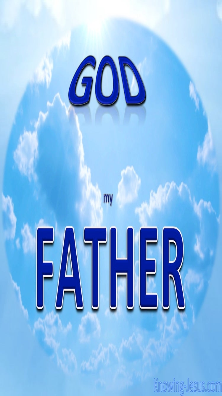 God, My Father (devotional)03-07 (blue)