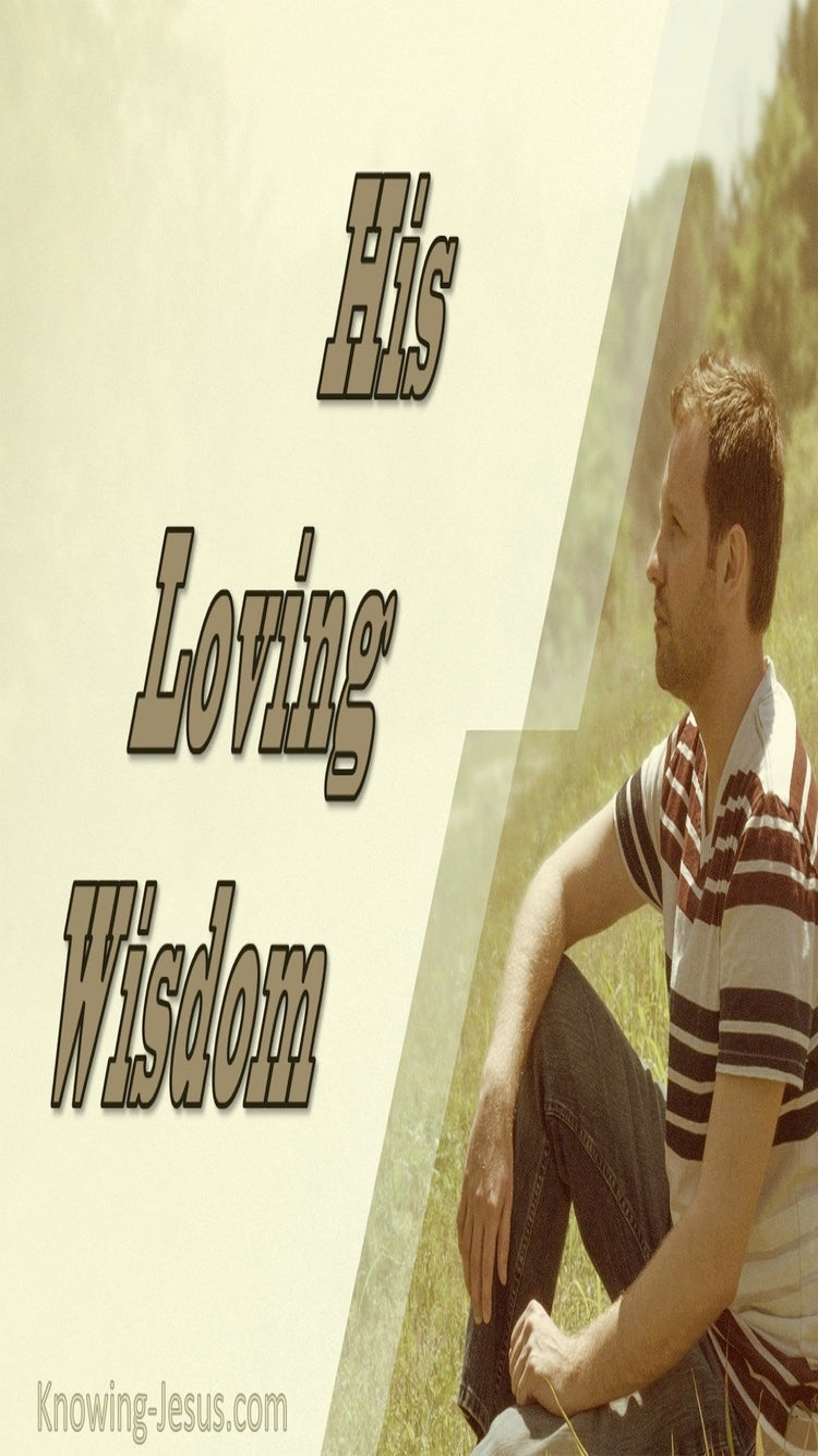 His Loving Wisdom (devotional)02-10 (sage)