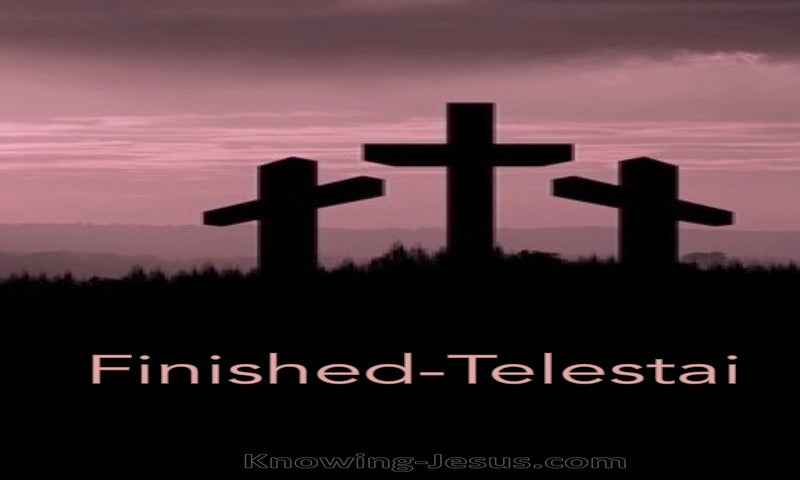 Finished-Telestai (devotional) (pink) - John 19:30