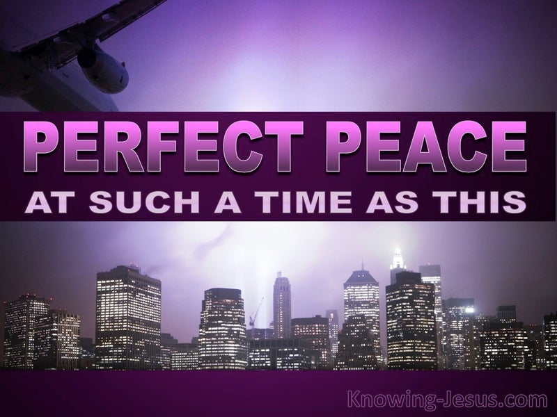Perfect Peace At Such A Time As This (devotional)02-12 (purple)