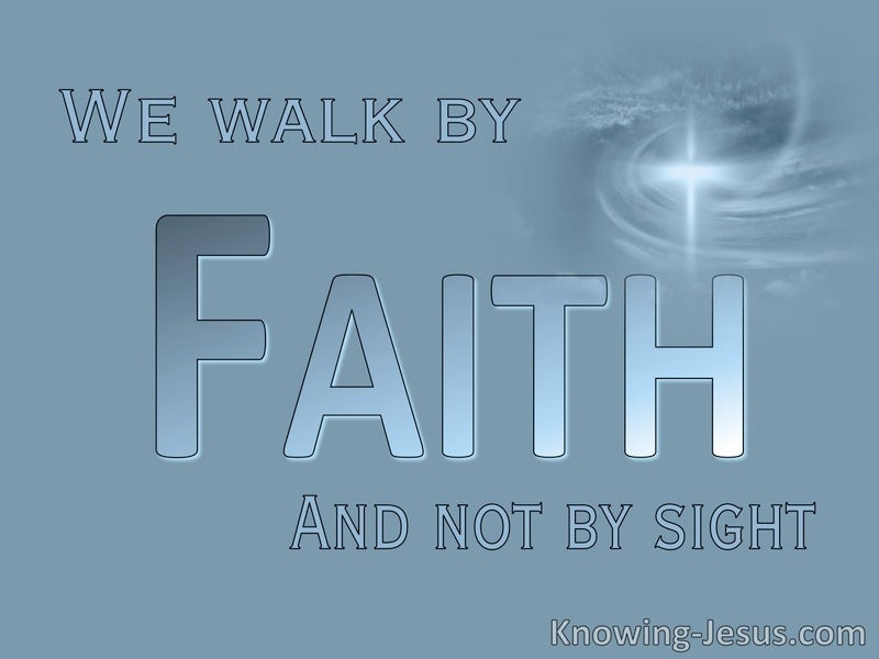 2 Corinthians 5:7 Possible Faith (devotional)04-22 (blue)