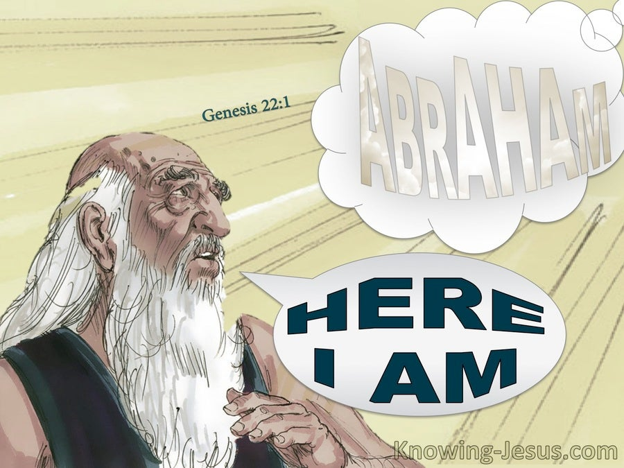 Genesis 22 1 God Tested Abraham Gray
