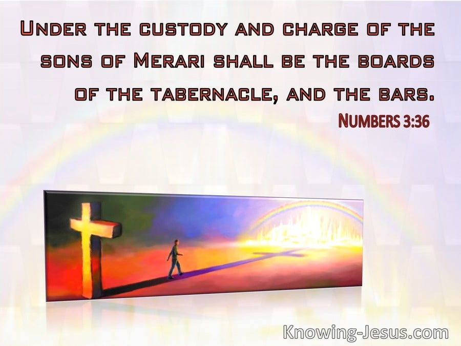 Numbers 3:36 Under The Charge Of Merari The Bords Of The Tabernacle (windows)10:13