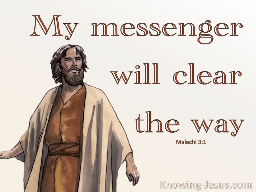 Malachi 3:1 My Messenger Will Clear The Way (beige)