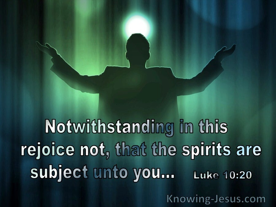 Luke 10:20 Rejoice Not That Spirits Are Subject Unto You (utmost)04:24