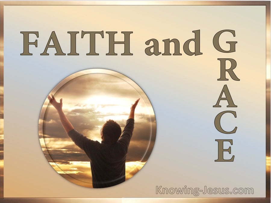 Faith and Grace (devotional) (gold)