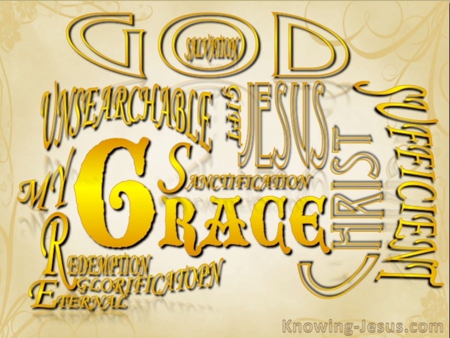 The Much More Grace Of God (devotional)