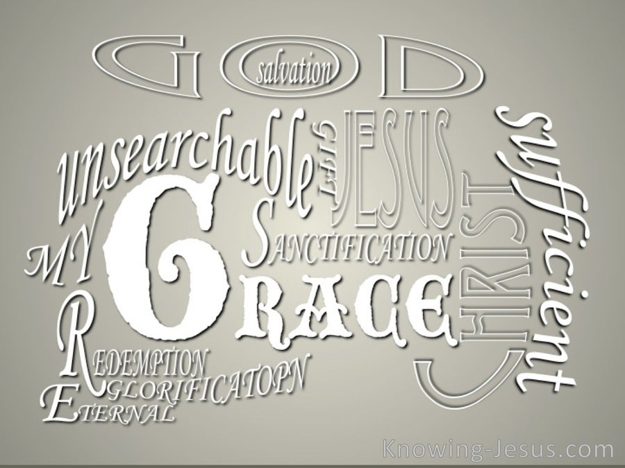 God's Glorious Grace (devotional) (silver)