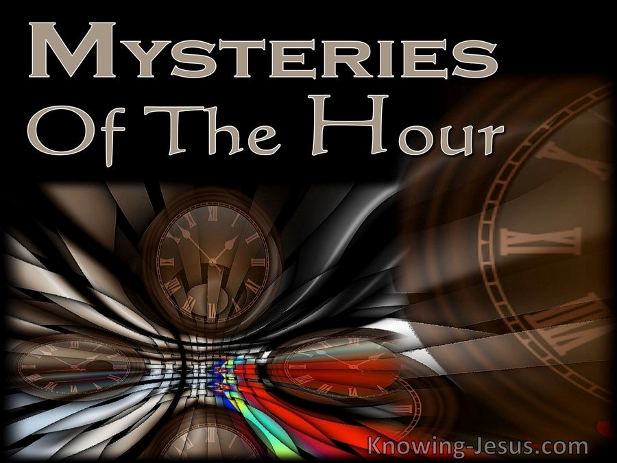 Mysteries of the Hour (devotional) (beige)