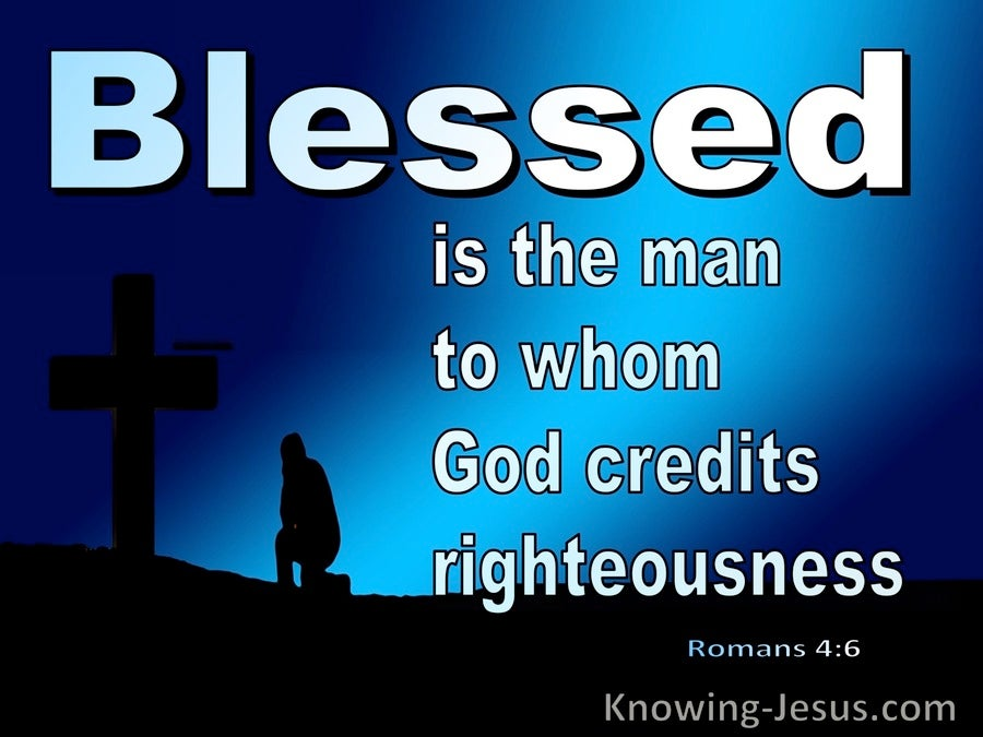 Romans Blessed Is The Man 4-6 (blue)