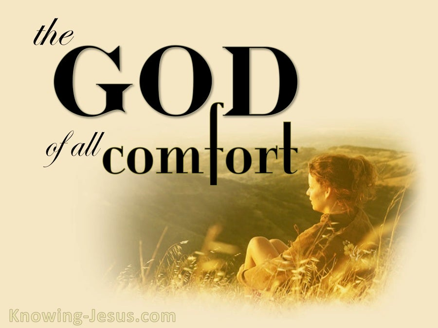 2 Corinthians 1:3 The God Of Comfort (gold)