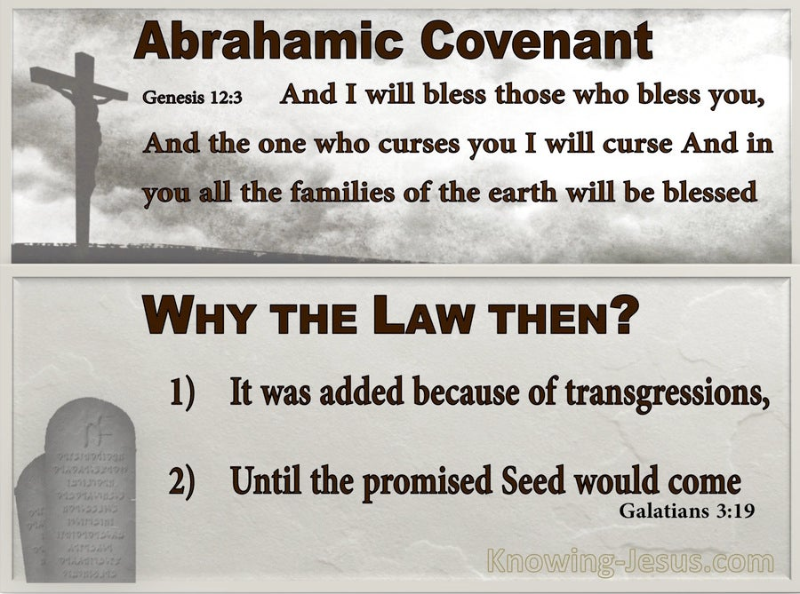 Galatians 3:19 Why The Law Then It Was Added Because Of Transgressions (gray)