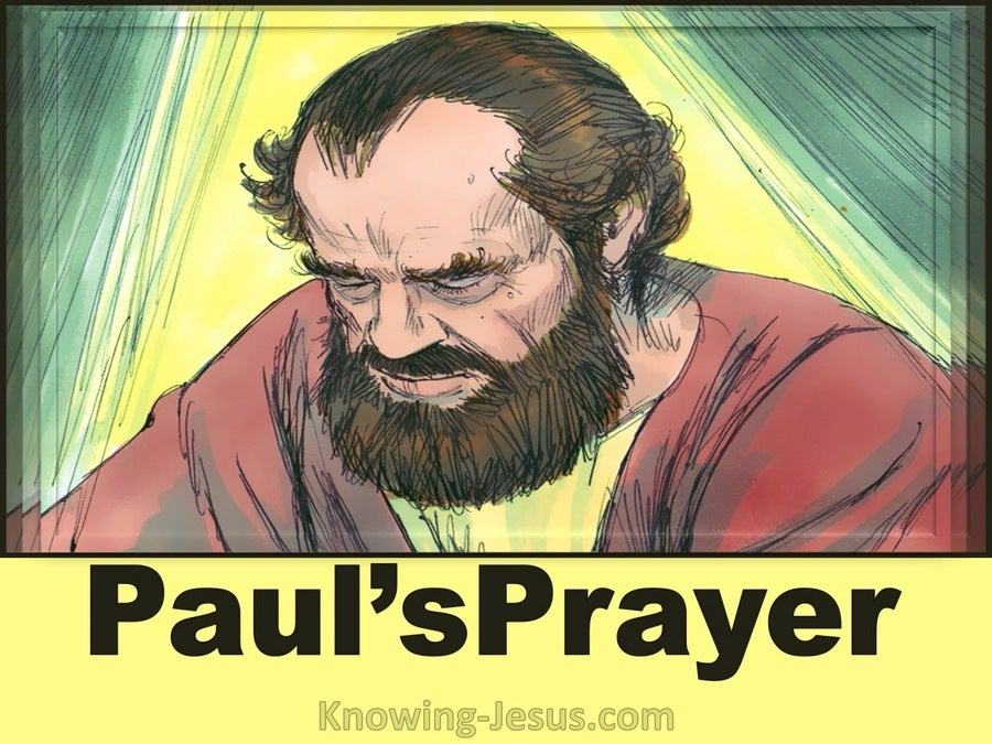 Ephesians 3:15 For This Cause I Bow My Knees Unto The Father Of Our Lord Jesus Christ Paul's Powerful Prayer (devotional)